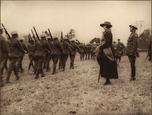 Princess Patricia Canadian Light Infantry Marching Past Princess Patricia, [ca. 1918]