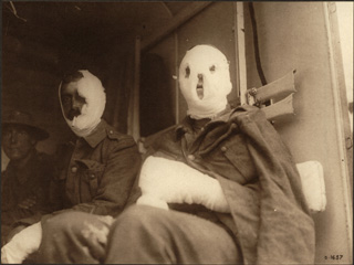 Wounded Canadian Soldiers En Route for Blighty, [ca. 1918]