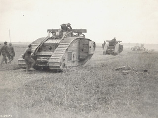 Tanks at Cambrai
