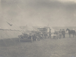 Tents - McGill Military Hospital,  Shorncliffe, England. 1915