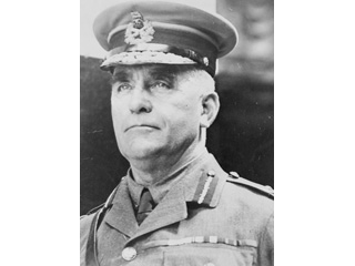 General Sam Hughes, Canadian Minister of Militia and Defence, 1914-1916.