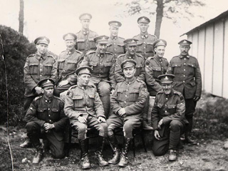 NCOs of the 13th Battalion