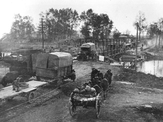 During the Battle of Cambrai, Canal Du Nord, 1918