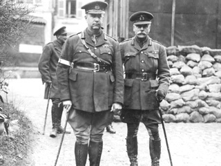 Sir Arthur Currie with Field Marshal Haig