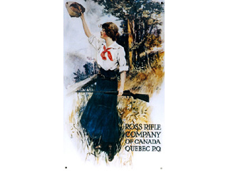 Ross Rifle Company of Canada Advertisement