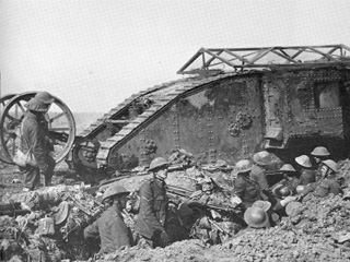 The Tank Makes Its Appearance at the Somme