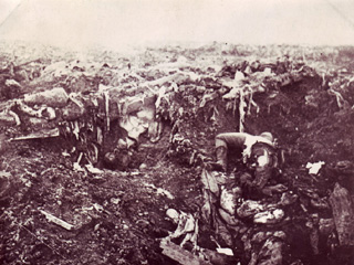 After the Explosion of a Mine Under a German Position