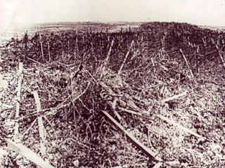 Barbed Wire Along the Hindenberg Line, 1914-1918
