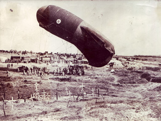 Observation Balloon on Western Front