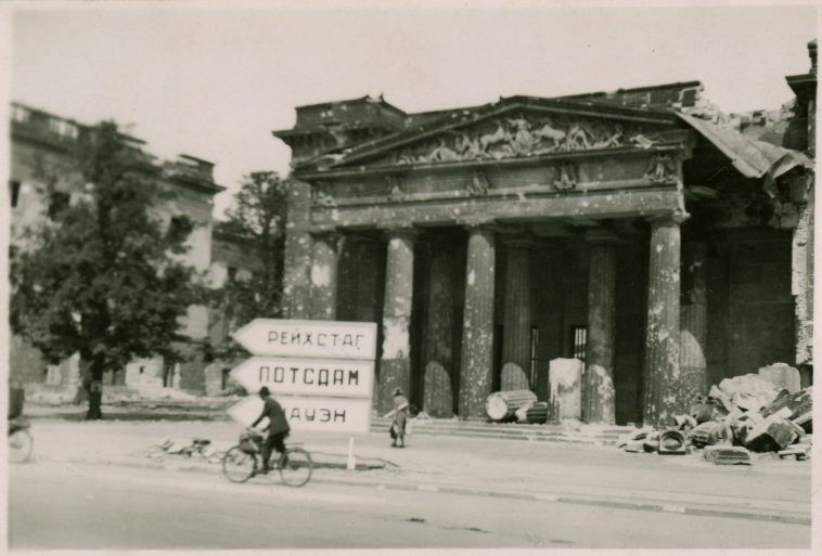 German Memorial after Bombing