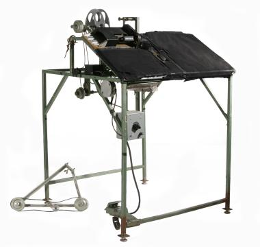 Drawing machine used in the making of cameraless animation films.