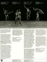 One-sheet for the film Ballet Adagio, which Norman McLaren made in 1971.